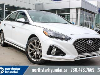 New 2019 Hyundai Sonata Ultimate: 8 TOUCH SCREEN NAV SYSTEM,BLUELINK,INFINITY PREMIUM AUDIO,LEATHER SEATING SURFACE for sale in Edmonton, AB