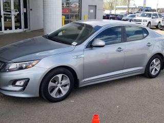 Used 2014 Kia Optima Hybrid LX; BLUETOOTH, BACKUP CAM, HEATED SEATS, PUSH BUTTON START AND MORE for sale in Edmonton, AB
