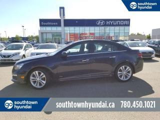 Used 2015 Chevrolet Cruze 2LT - LEATHER/SUNROOF/HEATSEATS for sale in Edmonton, AB