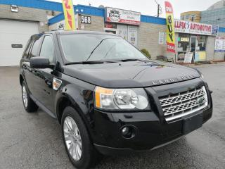 Used 2008 Land Rover LR2 SE_AWD_NAVI_LOW MILEAGE_SUNROOF_LEATHER for sale in Oakville, ON