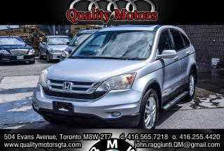 Used 2011 Honda CR-V EX-L w/Navi for sale in Etobicoke, ON
