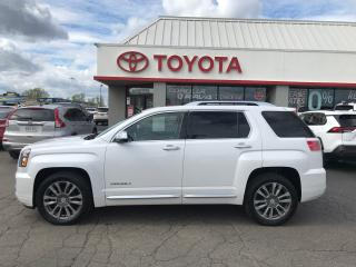 Used 2017 GMC Terrain Denali AWD LEATHER NAVIGATION MOONROOF for sale in Cambridge, ON