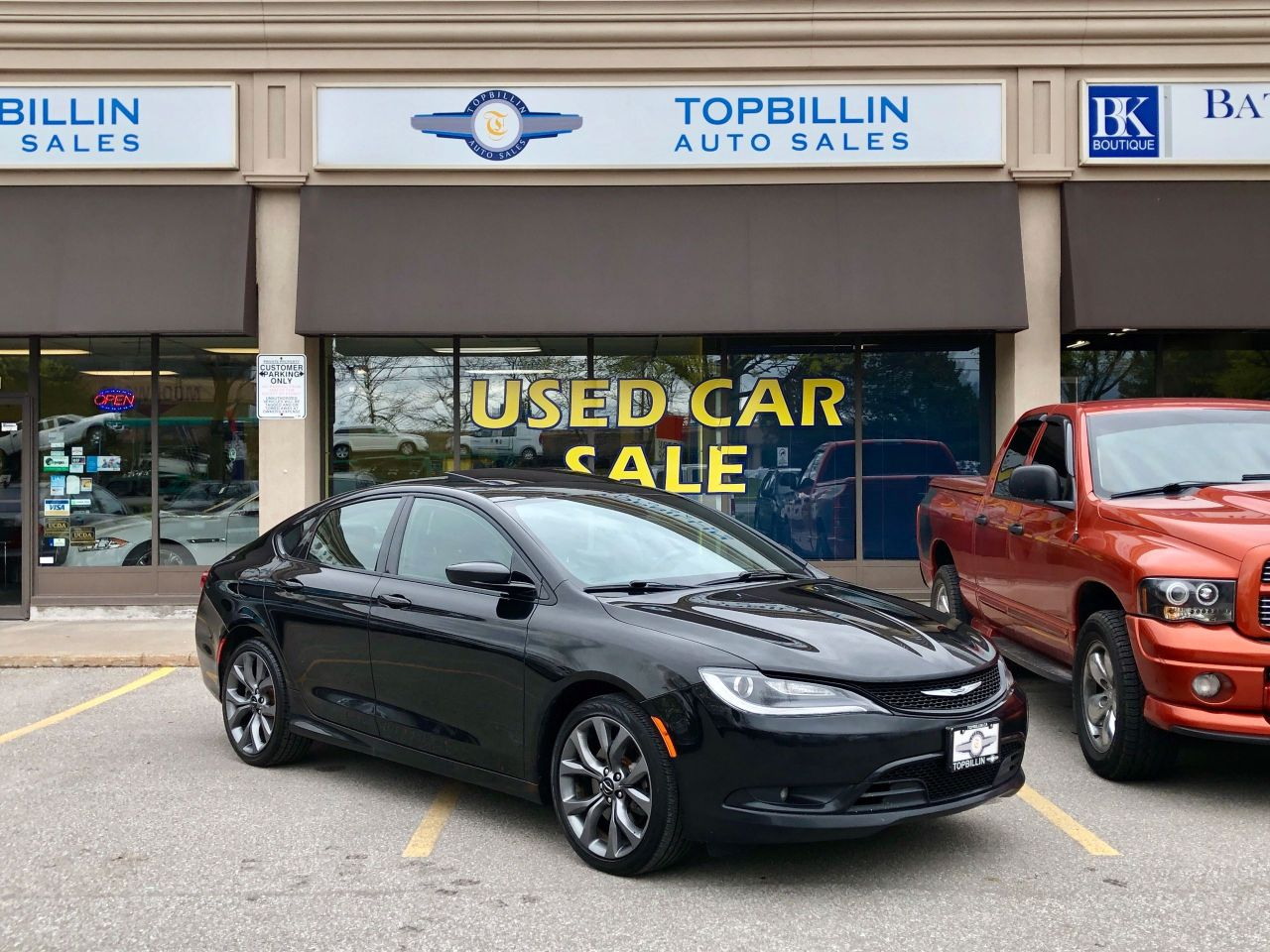 2015 Chrysler 200 S Navi, Pano Roof, Backup Cam