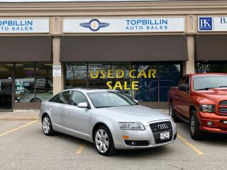Used 2007 Audi A6 3.2L, Fully Loaded, 2 Years Warranty for sale in Vaughan, ON