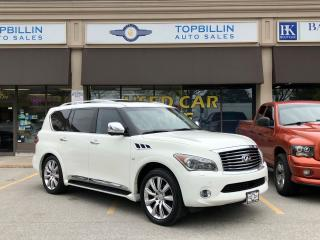 Used 2011 Infiniti QX56 Fully loaded, Navi, DVD, Backup Cam... for sale in Vaughan, ON