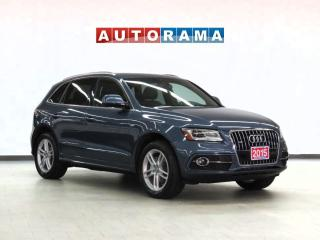 Used 2015 Audi Q5 Progressiv Pkg 4WD Navigation Leather Sunroof for sale in Toronto, ON
