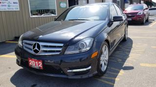 Used 2012 Mercedes-Benz C-Class C 300-LOCAL TRADE-AWD-SUNROOF-BLUETOOTH for sale in Tilbury, ON