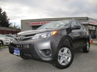 Used 2015 Toyota RAV4 LE-BACK UP CAMERA-BLUETOOTH-HEATED SEATS NO ACCIDE for sale in Scarborough, ON