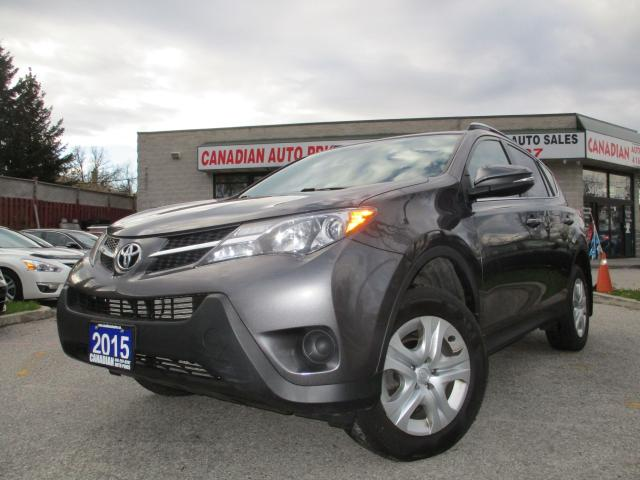 2015 Toyota RAV4 LE-BACK UP CAMERA-BLUETOOTH-HEATED SEATS NO ACCIDE