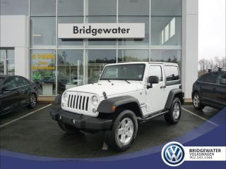 Used 2016 Jeep Wrangler SPORT for sale in Hebbville, NS