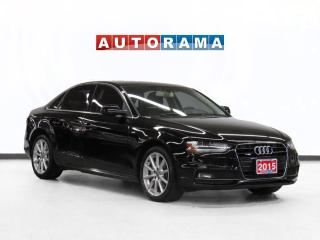 Used 2015 Audi A4 Progessive Pkg Navigation Leather Sunroof for sale in Toronto, ON