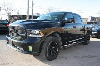 Used 2018 RAM 1500 Sport ACCIDENT FREE *FULL OPTIONS* for sale in Toronto, ON