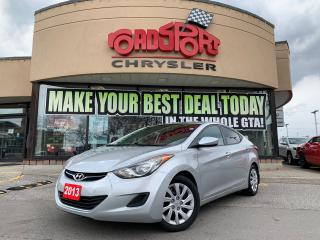 Used 2013 Hyundai Elantra GLS+AUTO+LOADED for sale in Toronto, ON