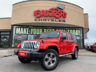 Used 2016 Jeep Wrangler Sahara UNLIMITED+NAV+LOADED+MORE for sale in Toronto, ON