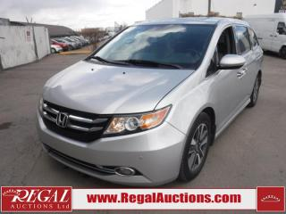 Used 2014 Honda Odyssey Touring 4D Wagon 7PASS 3.5L for sale in Calgary, AB