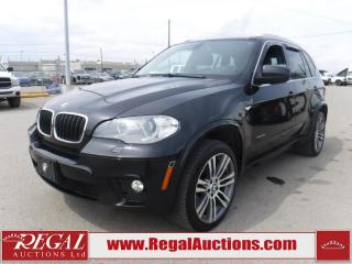 Used 2012 BMW X5 4D Utility for sale in Calgary, AB