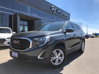 Used 2018 GMC Terrain AWD SLE for sale in Barrie, ON