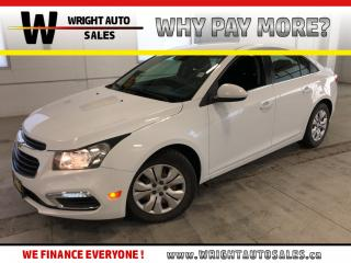 Used 2015 Chevrolet Cruze 1LT|BACKUP CAMERA|LOW MILEAGE|57,244 KMS for sale in Cambridge, ON