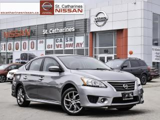 Used 2014 Nissan Sentra SR ALLOY'S & SPOILER for sale in St. Catharines, ON