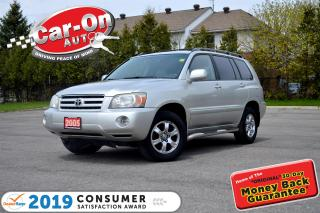 Used 2005 Toyota Highlander V6 4WD 7 Passenger LEATHER HTD SEATS LOADED for sale in Ottawa, ON