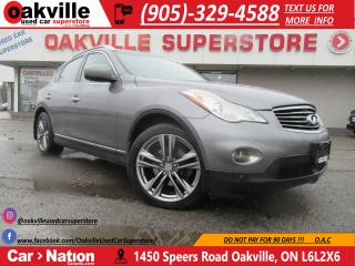 Used 2012 Infiniti EX35 AWD | SUNROOF | NAVI | PARKING SENSORS for sale in Oakville, ON
