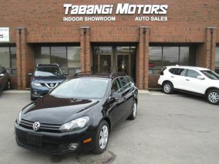 Used 2013 Volkswagen Golf Wagon NAVIGATION   NO ACCIDENTS   MANUAL   LEATHER   SUNROOF for sale in Mississauga, ON