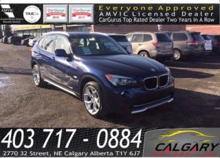 Used 2012 BMW X1 AWD 4dr 28i for sale in Calgary, AB