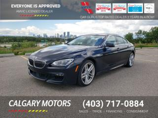 Used 2013 BMW 6 Series 4DR SDN 650I XDRIVE AWD GRAN COUPE for sale in Calgary, AB