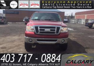 Used 2008 Ford F-150 4WD SUPERCREW for sale in Calgary, AB