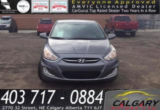 Used 2017 Hyundai Accent 5DR HB for sale in Calgary, AB