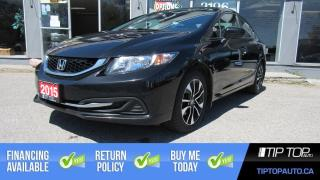 Used 2015 Honda Civic EX ** 1 Owner, Clean CarFax, Manual ** for sale in Bowmanville, ON