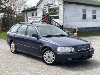 Used 2001 Volvo V40 Wagon Sunroof Power Group A/C for sale in Sutton, ON