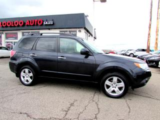 Used 2010 Subaru Forester 2.5X AWD LIMITED LEATHER SUNROOF CERTIFIED for sale in Milton, ON