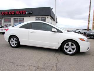 Used 2008 Honda Civic EX-L Coupe Automatic Leather Certified 2YR Warrant for sale in Milton, ON