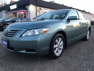 Used 2007 Toyota Camry LE 5-Spd AT for sale in Bloomingdale, ON