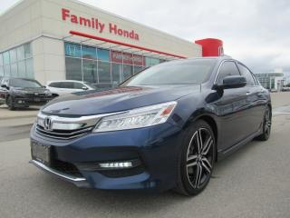 Used 2017 Honda Accord Touring for sale in Brampton, ON