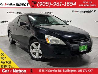 Used 2007 Honda Accord EX V6| AS-TRADED| LEATHER| SUNROOF| for sale in Burlington, ON