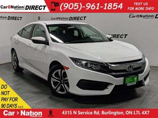 Used 2018 Honda Civic LX| BACK UP CAMERA| HEATED SEATS| for sale in Burlington, ON