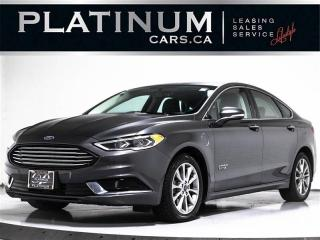 Used 2018 Ford Fusion Energi SEL, PLUG-IN HYBRID, NAVI, CAM, Heated Lthr for sale in Toronto, ON