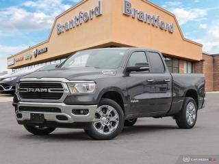 New 2019 RAM 1500 Big Horn  - Remote Start - Uconnect - $299.48 B/W for sale in Brantford, ON