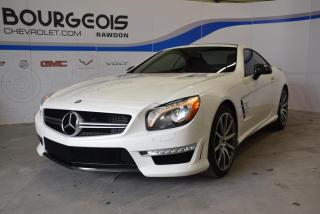 Used 2014 Mercedes-Benz SL 63 AMG Carbon Pack for sale in Rawdon, QC