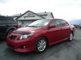 Used 2009 Toyota Corolla Berline 4 portes, boîte manuelle, S for sale in Westbury, QC