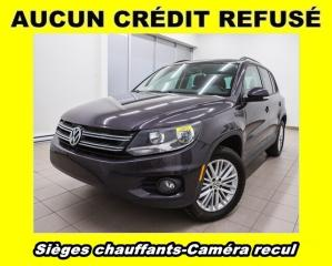 Used 2016 Volkswagen Tiguan COMFORTLINE 4MOTION CAMÉRA RECUL *SIÈGES CHAUFF* for sale in St-Jérôme, QC