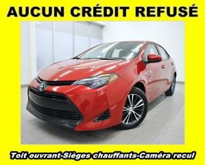 Used 2018 Toyota Corolla Le Sièges Ch. Caméra for sale in St-Jérôme, QC