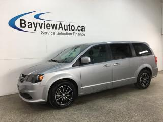 Used 2019 Dodge Grand Caravan GT - 3 ZONE A/C! STOW 'N GO! HTD LEATHER! ALLOYS! + MORE! for sale in Belleville, ON