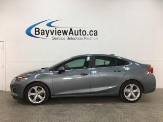 Used 2019 Chevrolet Cruze Premier - AUTO! ONSTAR! HTD LEATHER! STOP/START ENGINE! ALLOYS! + MORE! for sale in Belleville, ON