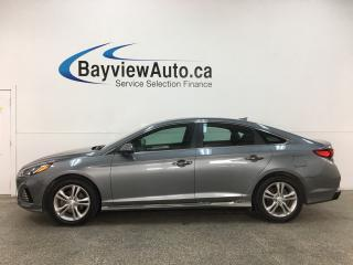 Used 2019 Hyundai Sonata ESSENTIAL - SPORT PKG! ALLOYS! 1/2 LEATHER! SUNROOF! HONEYCOMB GRILLE! for sale in Belleville, ON