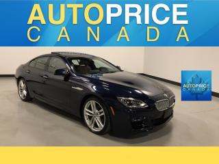 Used 2015 BMW 650i Gran Coupe i xDrive M-SPORT PKG|NAVIGATION|MOONROOF for sale in Mississauga, ON