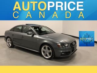 Used 2015 Audi A4 2.0T Technik plus TECHNIK|NAVIGATION|LEATHER for sale in Mississauga, ON