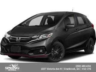 New 2019 Honda Fit Sport $148 BI-WEEKLY - $0 DOWN for sale in Cranbrook, BC